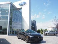 Crystal Black Pearl 2017 Honda Civic Si FWD 6-Speed