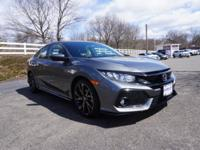 2017 Honda Civic Sport Gray New Price! 4 Speakers,