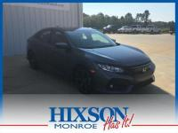 This 2017 Honda Civic Hatchback Sport is offered to you