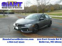 This 2017 Honda Civic Hatchback Hatchback Sport is