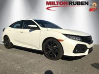 This 2017 Honda Civic Hatchback 4dr Sport Touring CVT