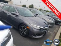 2017 Honda Civic Touring Polished Metal Metallic