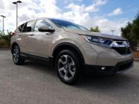 CARFAX One-Owner. Clean CARFAX. Beige 2017 Honda CR-V