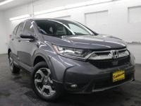 AWD. 2017 Honda CR-V EX-L Certified. CARFAX One-Owner.