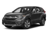 2017 Honda CR-V LX AWD. Polished Metal Metallic 2.4L I4
