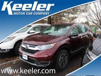 2017 Honda CR-V LX Keeler Rewards Program. 31/25