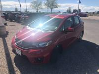 New Price! Certified. Milano Red 2017 Honda Fit EX FWD