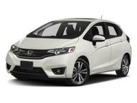 2017 Honda Fit EX Black 1.5L I4 32/37mpg* 37/32