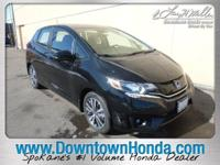 Scores 37 Highway MPG and 32 City MPG! This Honda Fit