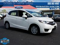New Price! CARFAX One-Owner. 2017 Fit Honda Clean