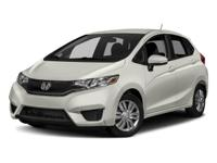 2017 Honda Fit LX White Orchid Pearl 1.5L I4 33/40mpg