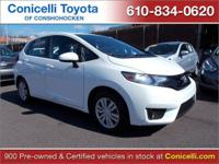CARFAX 1-Owner! This 2017 Honda Fit LX, has a great