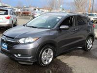 This outstanding example of a 2017 Honda HR-V EX-L Navi