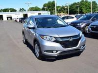 Boasts 31 Highway MPG and 27 City MPG! This Honda HR-V