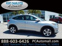 CARFAX One-Owner. Certified. Silver 2017 Honda HR-V LX