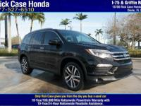 This 2017 Pilot is for Honda fanatics looking far and