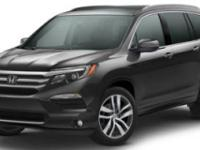 Options:  2017 Honda Pilot Elite|Steel Sapphire