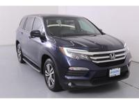 AWD; This Honda Pilot is CERTIFIED! Low miles for a