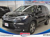 Recent Arrival! AWD. CARFAX One-Owner. 2017 Honda Pilot