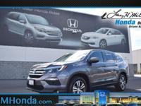 Land a deal on this 2017 Honda Pilot EX-L before