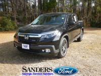 This Honda Ridgeline has a strong Regular Unleaded V-6