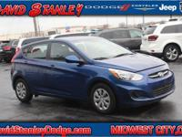 CARFAX One-Owner. 2017 Hyundai Accent SE FWD Automatic