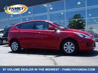 Look at this certified 2017 Hyundai Accent SE. Its