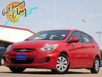 2017 Hyundai Accent Boston Red Metallic 6-Speed