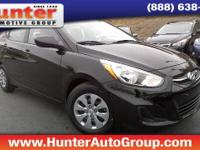 SE Hyundai Accent BlackBlk Cloth.$1,877 off MSRP!