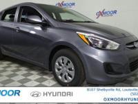 2017 Hyundai Accent SE 36/26 Highway/City MPG Price