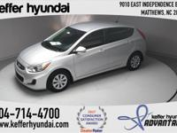 2017 Hyundai Accent SE 1.6L I4 DGI DOHC 16V Rh 36/26