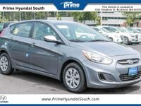 2017 Hyundai Accent SE FWD Triathlon Gray Metallic 1.6L