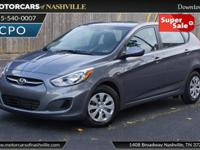 This 2017 Hyundai Accent 4dr SE Hatchback Automatic