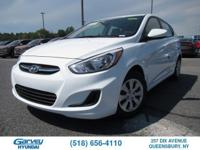 The new 2017 Hyundai Accent in Queensbury, NY gives