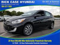 2017 Hyundai Accent Sport  in Ultra Black and 20 year