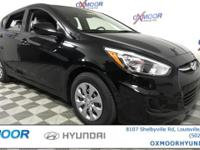 2017 Hyundai Accent SE Cloth. 14-Inch Wheels w/ Full