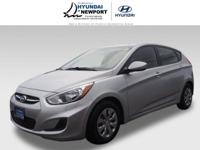 This 2017 Hyundai Accent, which includes features like
