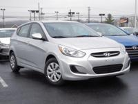 2017 Hyundai Accent SE Cloth. 37/27 Highway/City MPG