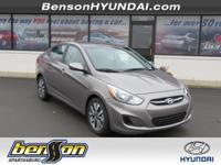 Sandstone 2017 Hyundai Accent Value Edition FWD 6-Speed
