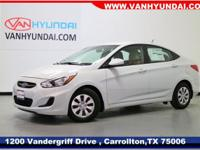 Recent Arrival! New Price! 2017 Hyundai Accent SE 36/26