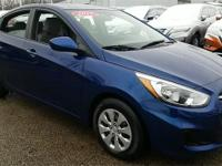 2017 Hyundai Accent SE CARFAX One-Owner. Brand New
