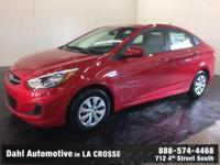 Just Reduced! 2017 Hyundai Accent SE Boston Red