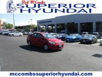 The Hyundai Accent is an entry-level car that doesn't