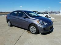 Recent Arrival! Clean CARFAX. 2017 Hyundai Accent SE