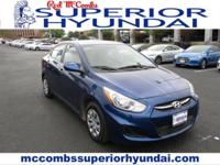 Tried-and-true, this Used 2017 Hyundai Accent SE packs