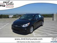 2017 Hyundai Accent SE Gray w/Cloth Seat Trim.Priced