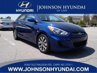 2017 Hyundai Accent SE. Gray w/Cloth Seat Trim, Cargo