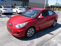 2017 Hyundai Accent SE Red WITH SOME AVAILABLE OPTIONS