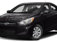 2017 Hyundai Accent SE Gry Cloth, 6 Speakers, ABS