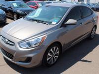 2017 Hyundai Accent Value Edition Gray. 36/26